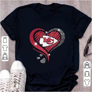 Pretty Heart Diamond Kansas City Chiefs Super Bowl Champions shirt