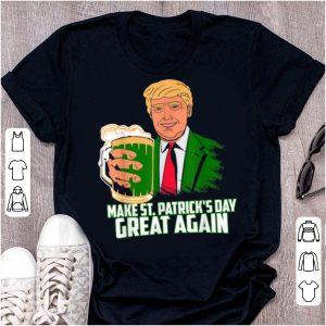 Pretty Irish Gifts, Trump Make St Patrick's Day Great Again shirt