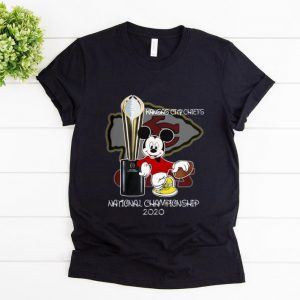Pretty Mickey Kansas City Chiefs National Champions 2020 shirt