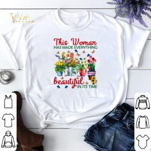 This woman has made everything beautiful in its time shirt sweater