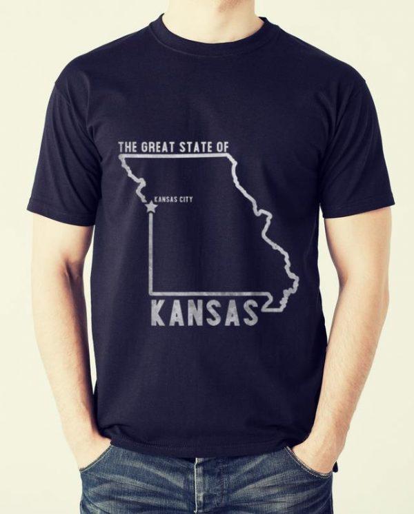 Top Great State Of Kansas City Kansas City Chiefs shirt