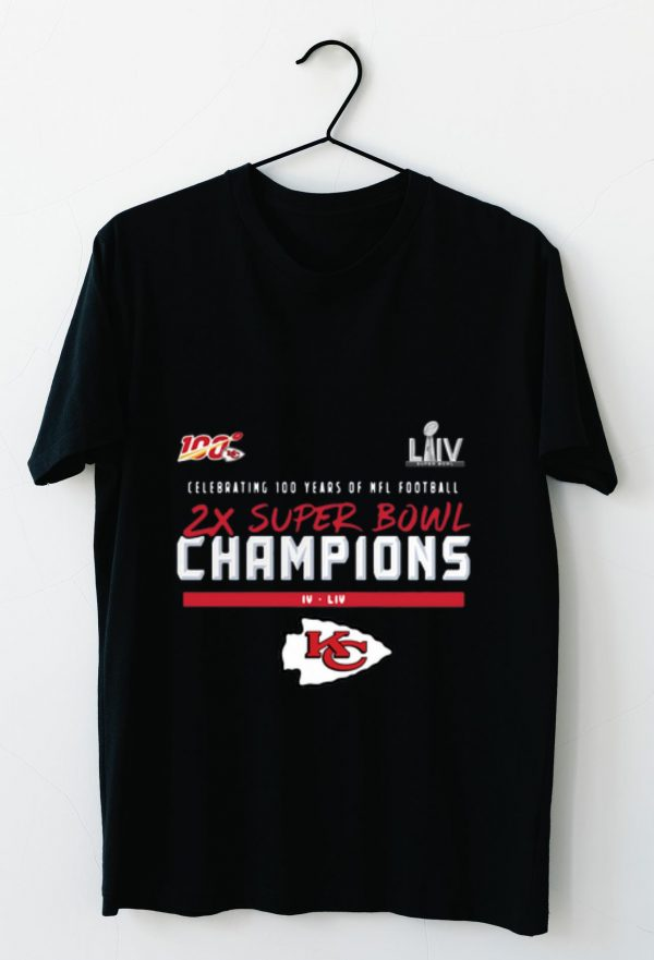 Top Kansas City Chiefs 2 Time Super Bowl Champions shirt