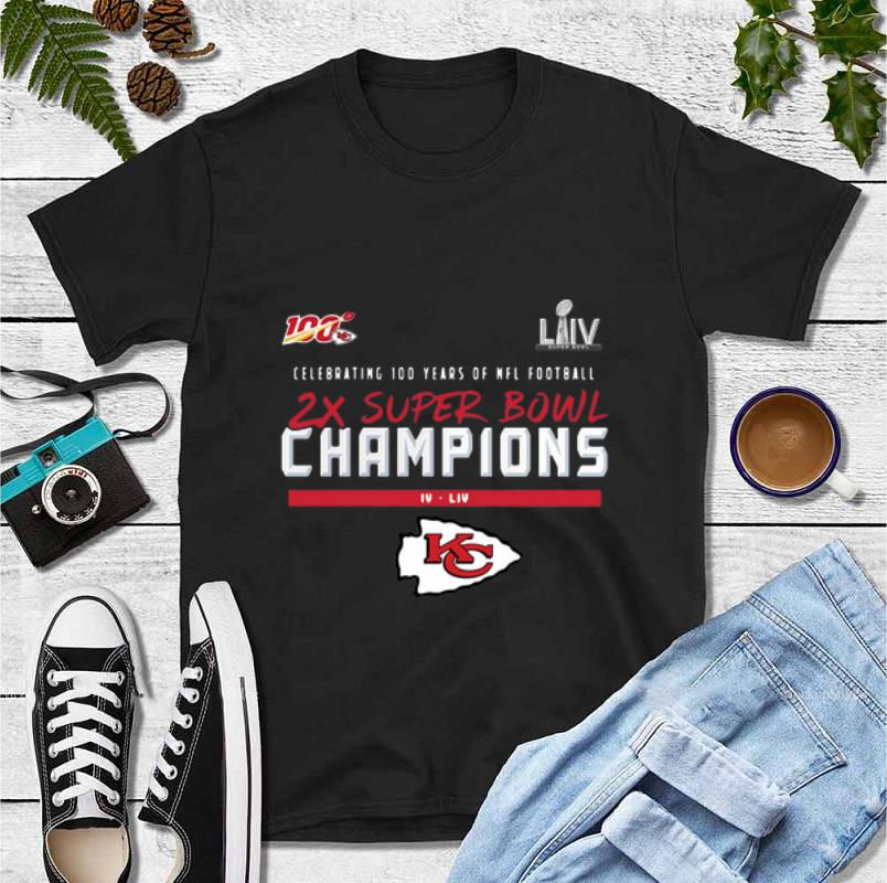 Top Kansas City Chiefs 2 Time Super Bowl Champions shirt 4 - Top Kansas City Chiefs 2 Time Super Bowl Champions shirt