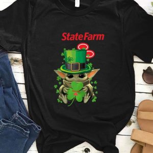 Top Star Wars Baby Yoda Speedway Shamrock St. Patrick's Day shirt