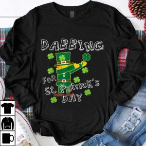 Awesome Dabbing For St. Patricks Day Kids Boys Girls Toddlers shirt