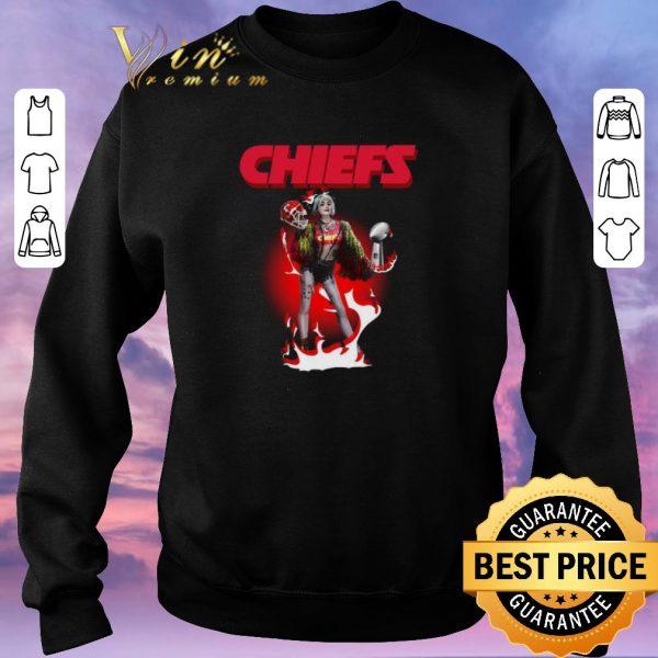 Awesome Harley Quinn Kansas City Chiefs Super Bowl LIV shirt sweater