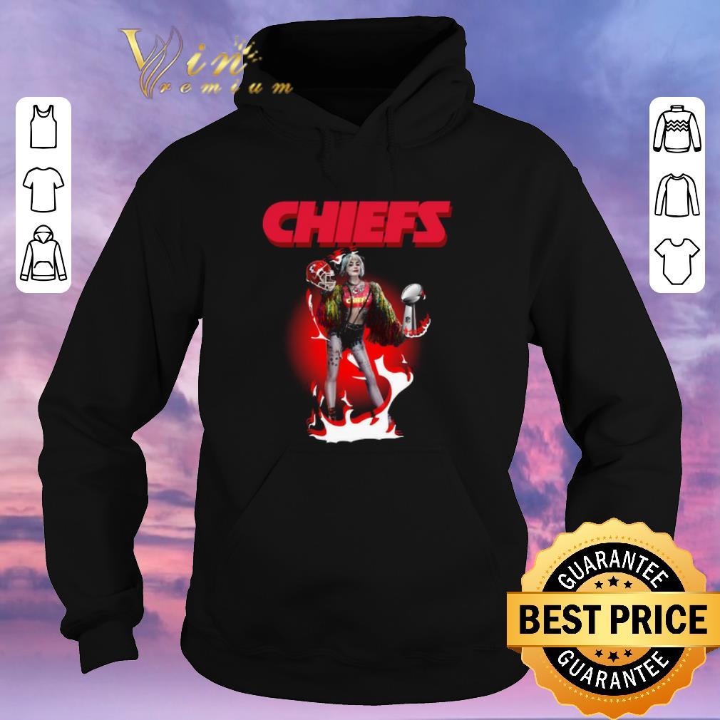 Awesome Harley Quinn Kansas City Chiefs Super Bowl LIV shirt sweater 4 - Awesome Harley Quinn Kansas City Chiefs Super Bowl LIV shirt sweater