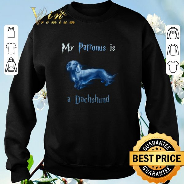 Awesome Harry Potter My patronus is a dachshund shirt sweater