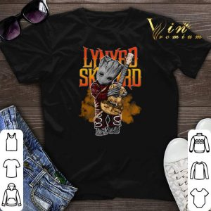 Baby Groot Hug Guitar Lynyrd Skynyrd Marvel shirt sweater
