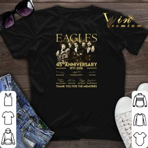 Eagles 45th anniversary 1971-2016 signatures shirt sweater