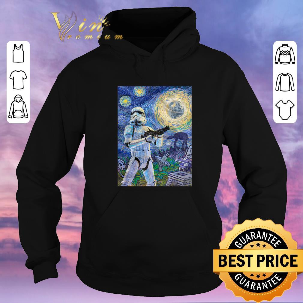 Funny Star Wars Stormtrooper Mashup Van Gogh Starry Night shirt sweater 4 - Funny Star Wars Stormtrooper Mashup Van Gogh Starry Night shirt sweater