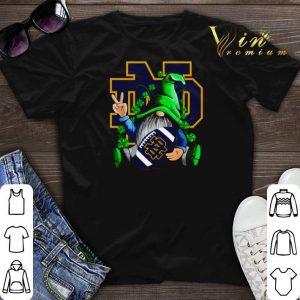 Gnomes hug Notre Dame Fighting Irish Logo St. Patrick's day shirt sweater