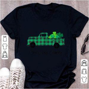 Great Buffalo Plaid Truck One Lucky Granny St Patricks Day shirt