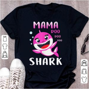 Great Mama Shark Doo Doo Christmas Mother's Day Gifts shirt