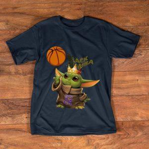 Great Star Wars Baby Yoda Black Mamba Kobe Bryant shirt
