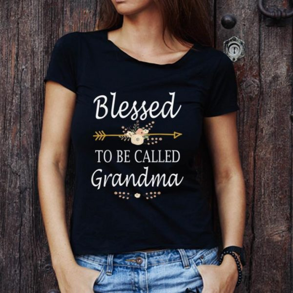 Hot Blessed To Be Called Grandma Mothers Day Gifts shirt