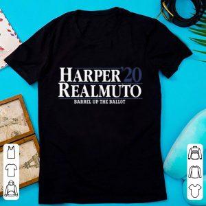 Hot Harper Realmuto 2020 Barrel Up The Ballot shirt