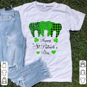 Hot Teeth Happy St Patrick's Day shirt