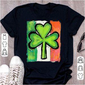 Nice Irish American Flag Ireland Shamrock St Patricks Day shirt