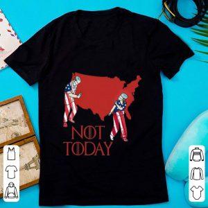 Nice Nurse Not Today American Flag shirt