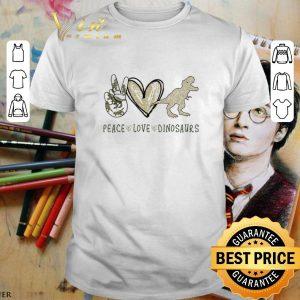 Nice Peace Love Dinosaurs shirt