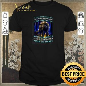 Nice Wolf if they stand behind you give them protection if they stand shirt sweater