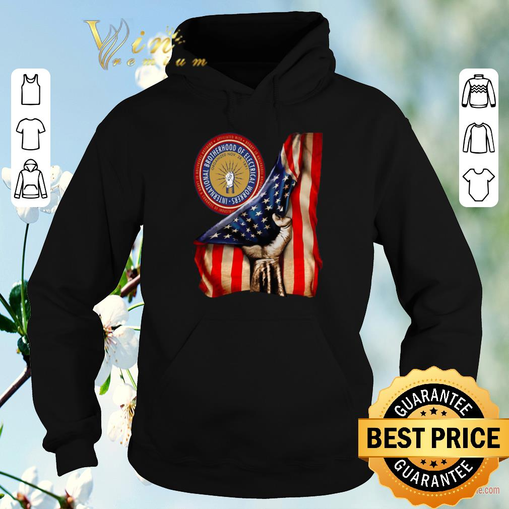 Official American Flag International Brotherhood Of Electrical Workers shirt sweater 4 - Official American Flag International Brotherhood Of Electrical Workers shirt sweater