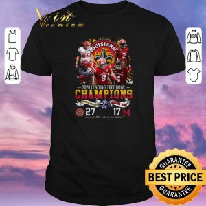Official Louisiana Lafayette 2020 Lending Tree Bowl Champions shirt sweater