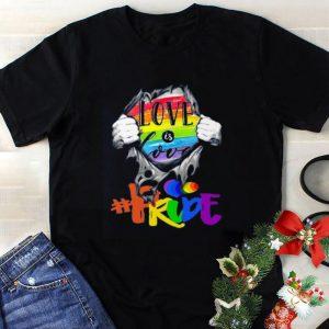 Premium Blood Inside Me Love Is Love prude shirt