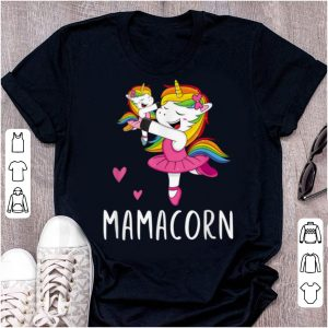 Premium Mamacorn Unicorn Mama Ballerina Mother's Day Gift shirt