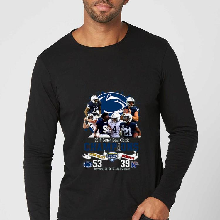 Pretty 2019 Cotton Bowl Classic Champions Penn State Vs Memphis shirt 4 - Pretty 2019 Cotton Bowl Classic Champions Penn State Vs Memphis shirt