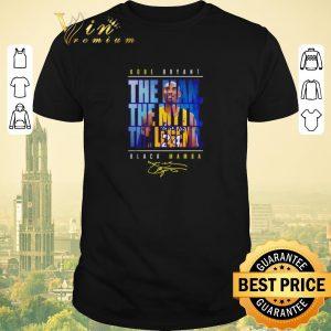 Pretty 24 Kobe Bryant The Man The Myth The Legend Black Mamba Signature shirt sweater