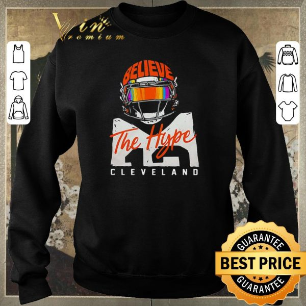 Pretty Cleveland Cavaliers Believe The Hype shirt sweater