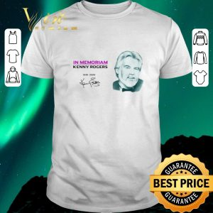 Pretty In Memoriam Kenny Rogers 1938-2020 signature shirt sweater
