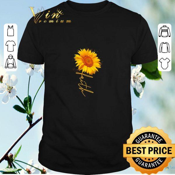 Pretty faith Sunflowers shirt sweater