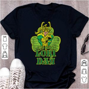 Top Marvel It's Your Loki Day St. Patrick's Day Shamrock shirt