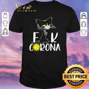 Original Black cat fuck Corona shirt sweater