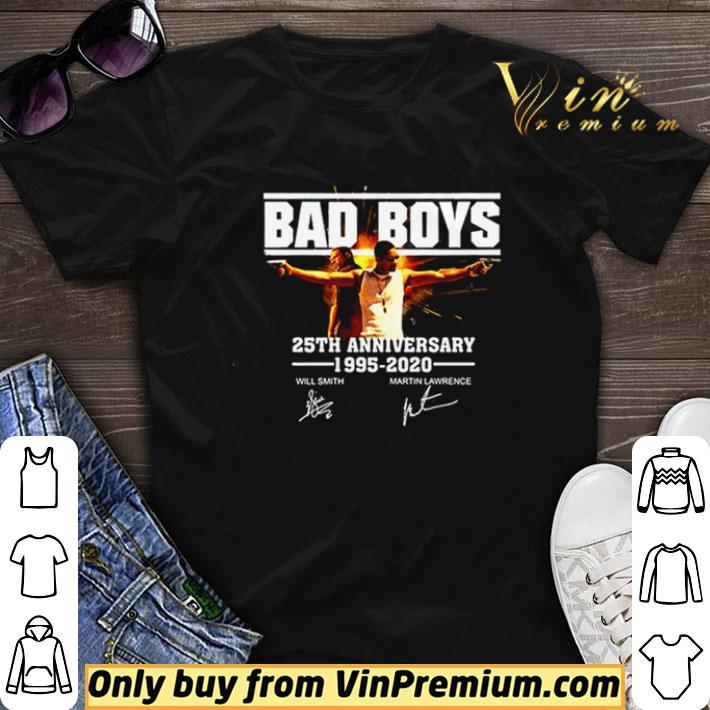 Awesome Bad Boys 25th Anniversary 1995 2020 signature shirt sweater