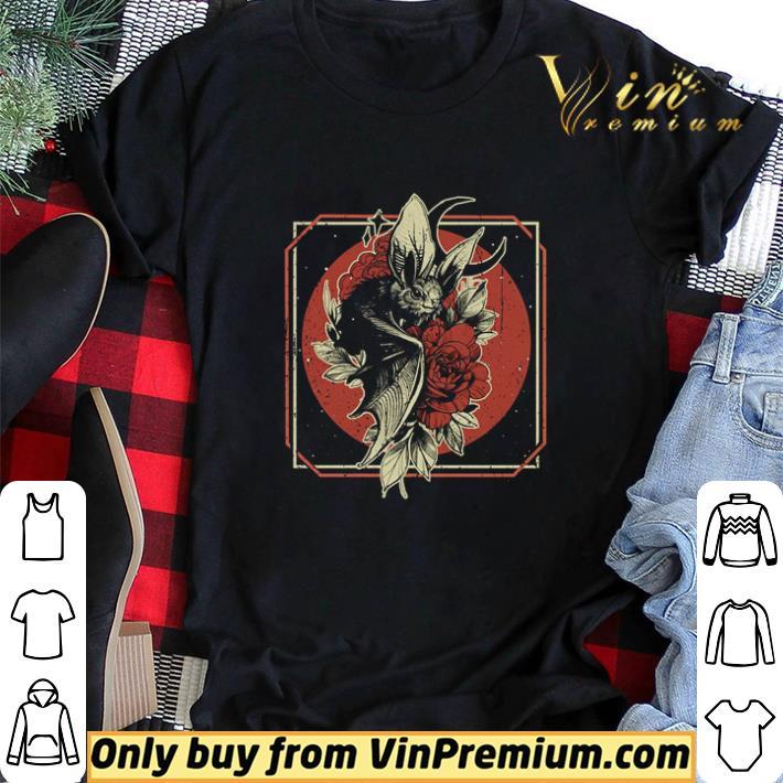 Bat Witch hug Rose Halloween shirt sweater