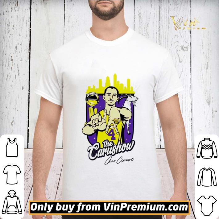 Alex Caruso Los Angeles Lakers The Carushow shirt sweater