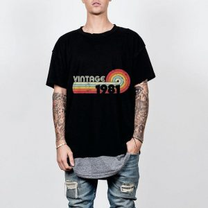 1981 Vintage Retro Style shirt