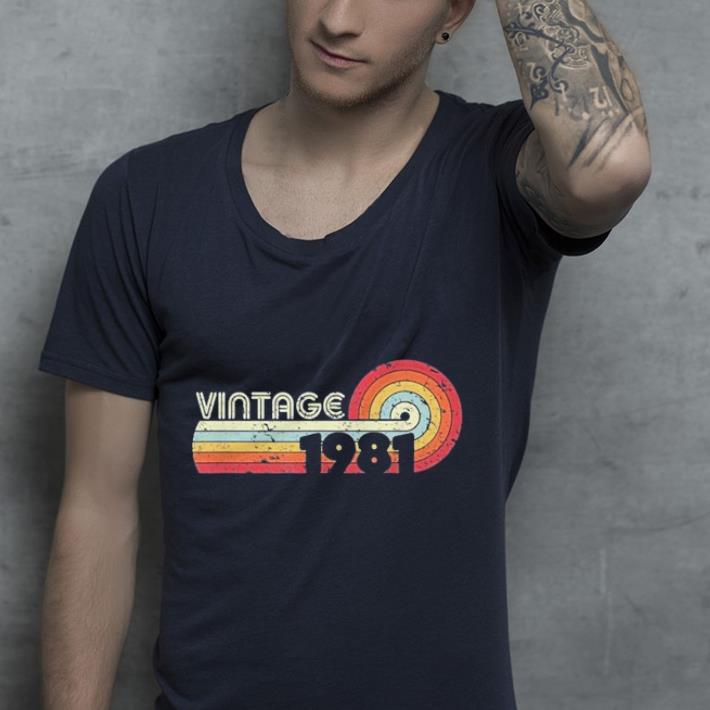 1981 Vintage Retro Style shirt 4 - 1981 Vintage Retro Style shirt