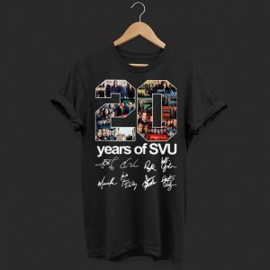 20 years of SVU signature shirt