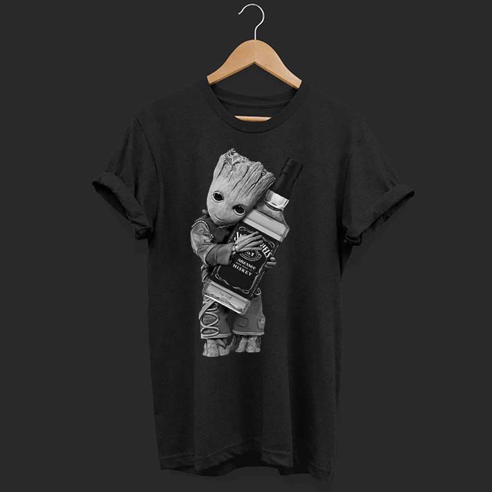 9cdcfa616 Baby Groot hug Jack Daniel's shirt, hoodie, sweater, longsleeve t-shirt