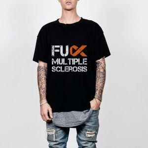 Fuck Multiple Sclerosis, MS Support Ribbon shirt
