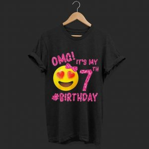 OMG It's My 7th Birthday shirt