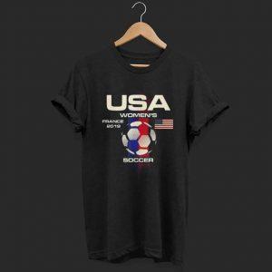 Soccer USA Team France 2019 World Tournament shirt