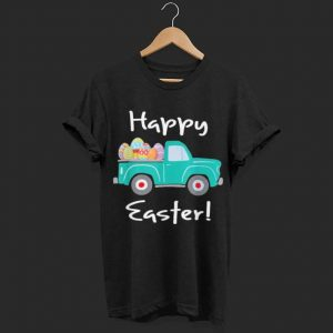 Truck with Easter Eggs Happy Easter shirt