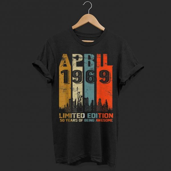 1969 limited edition 50 years of being awesome  shirt