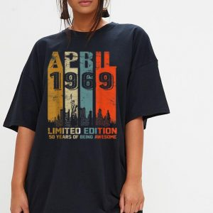 1969 limited edition 50 years of being awesome  shirt 2